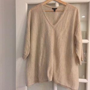 Eileen Fisher Linen/Polyester Sweater